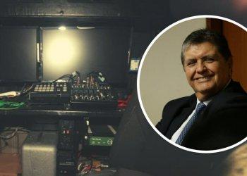 """Alan García denuncia """"chuponeo"""" desde vehículo pero ministro lo niega"""