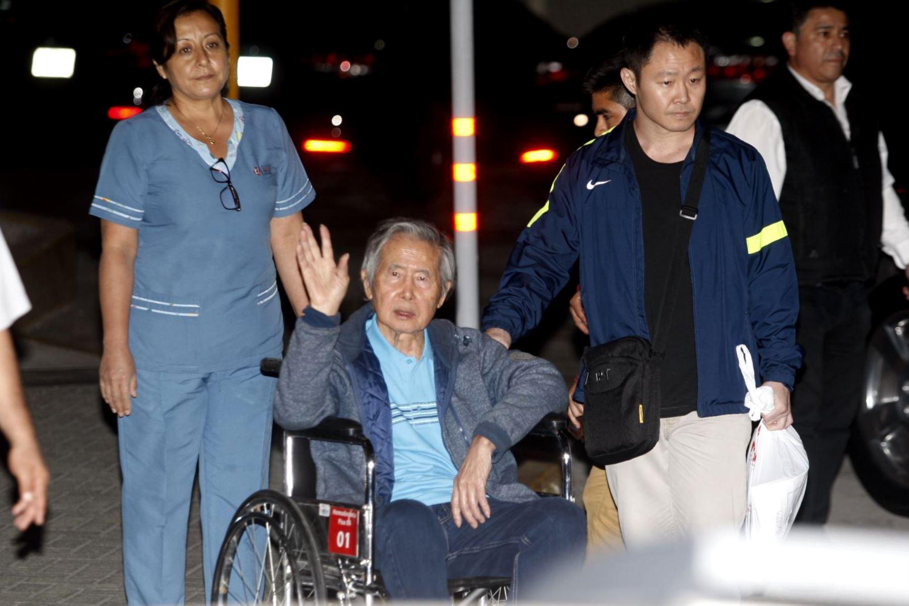 Fujimori vuelve a prisión tras anularse su indulto humanitario