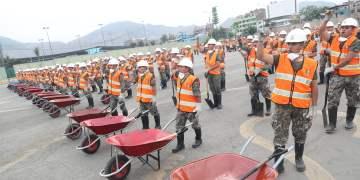 Más de 120 toneladas de residuos sólidos fueron retirados durante la jornada de hoy por personal militar de la Marina de Guerra y de la Brigada Multipropósito del Ejército