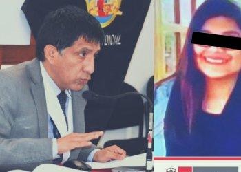 Juez concepción Carhuancho y su hija