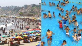 Piscinas y playas saludables