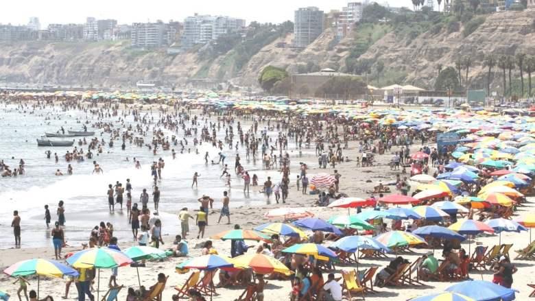 Playas limpias de Lima y Perú