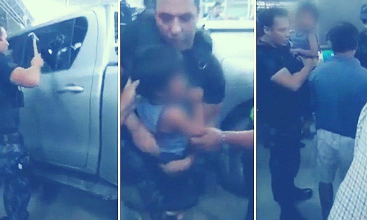 Dejó encerrado a su hijo en una camioneta a 36°C y lo detienen