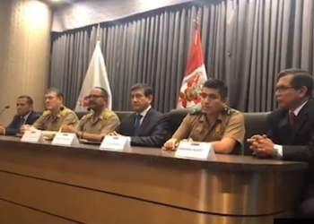 """Elvis Miranda a policías: """"Mantengan siempre la frente en alto"""""""
