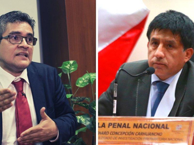 José Domingo Pérez y Richard Concepción Carhuancho