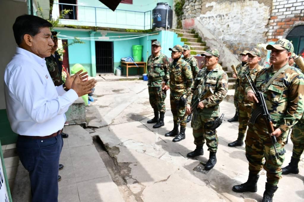 Ministro Morán en Ayacucho