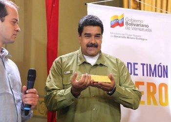 Régimen de Nicolás Maduro sacó 8 toneladas de oro del Banco Central de Venezuela