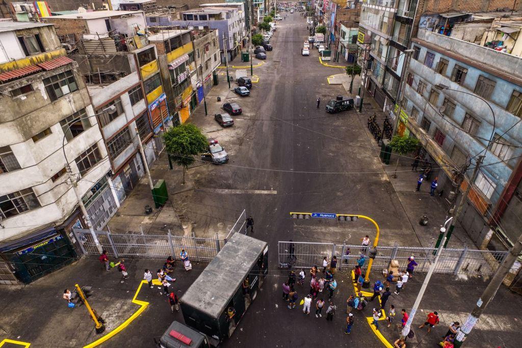 Emporio comercial de Gamarra reabrió al público tras cerrar por 3 días