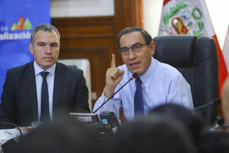 Martín Vizcarra cuestiona al Congreso por no aprobar leyes de reforma judicial
