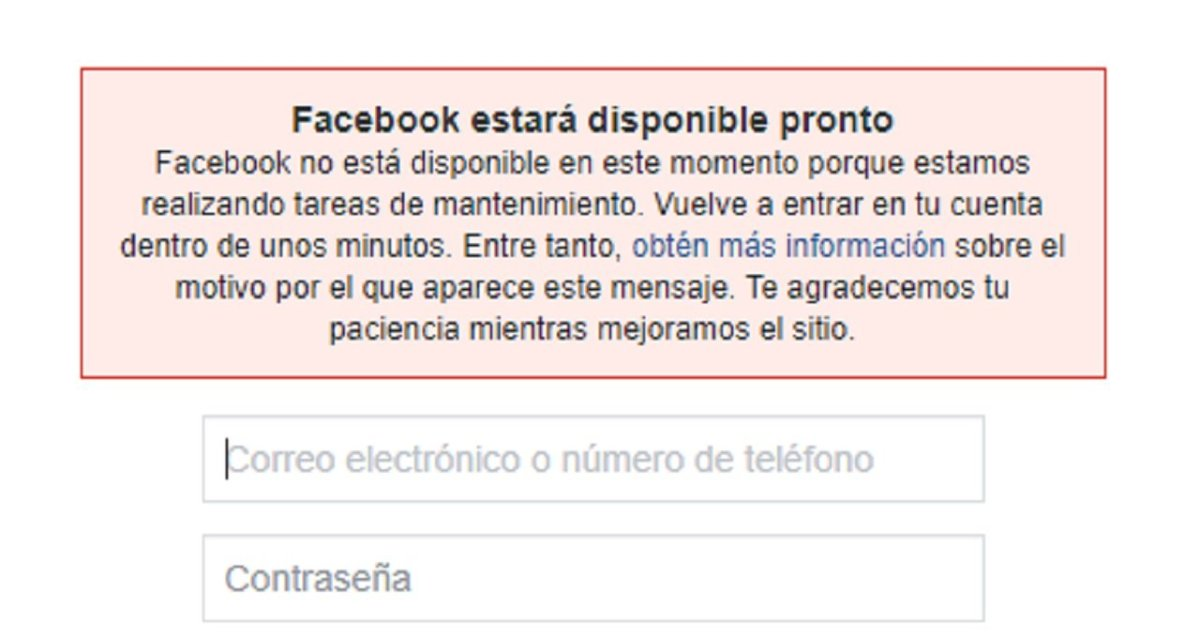 Facebook se cae en varios países y usuarios se quejan en Twitter