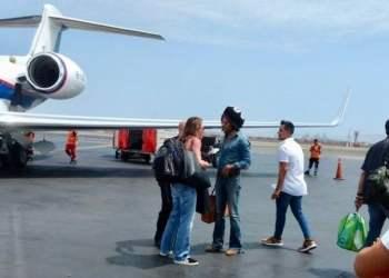 Lenny Kravitz llegó a Lima para concierto en el Jockey Club del Perú
