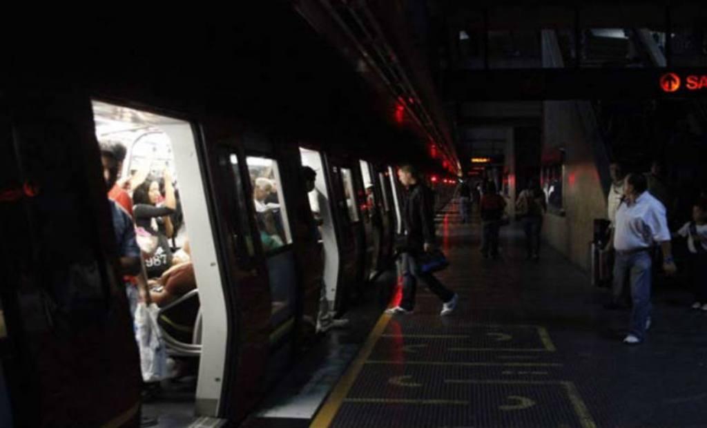 Metro de Caracas en apagón