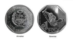 Conoce la nueva moneda de S/ 1 alusiva al mono choro cola amarilla