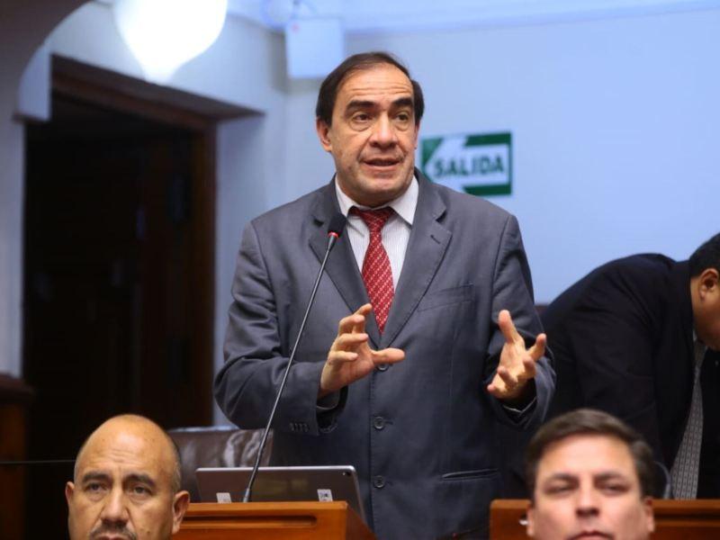 Yonhy Lescano será investigado por la comisión de Ética del Congreso