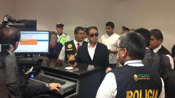 Jaime Yoshiyama se entregó a la justicia