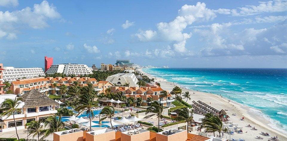 Cancún - Cinco mejores destinos para viajar y escapar de la rutina