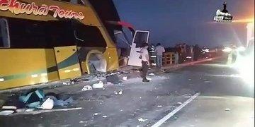 Accidente en Huacho de delegación aprista