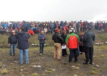 Las Bambas: Comuneros desbloquean temporalmente acceso a zona minera