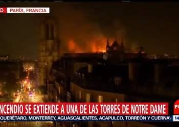 EN VIVO: Incendio en catedral de Notre Dame en Francia