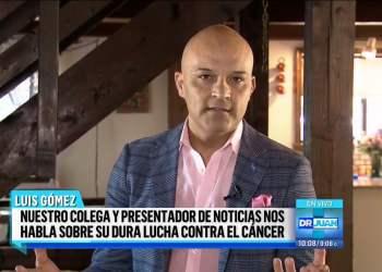 Presentador de Univisión Luis Gómez murió tras lucha contra el cáncer