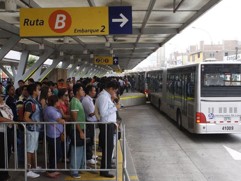 Comas gestiona ampliación del Metropolitano hasta Chimpu Ocllo