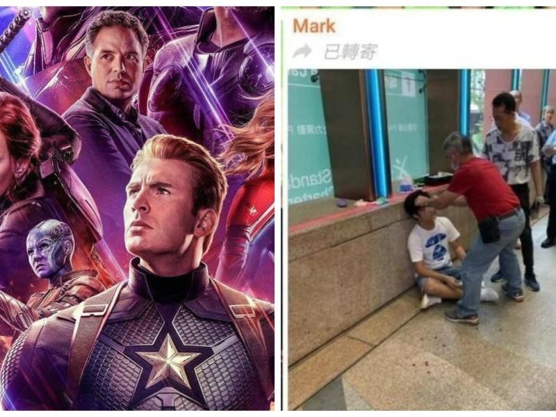 """Spoileó el final de """"Avengers: Endgame"""" y le dieron una paliza"""