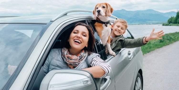 Semana Santa viaje en auto