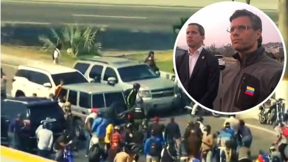EN VIVO Operación Libertad busca sacar a Nicolás Maduro del gobierno
