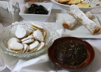 Deliciosos alfajores en dulces de convento
