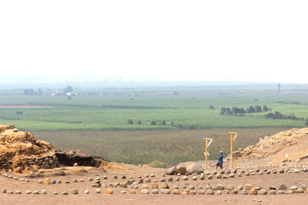 Sitio arqueológico Áspero, conocido como la ciudad pesquera de la civilización Caral