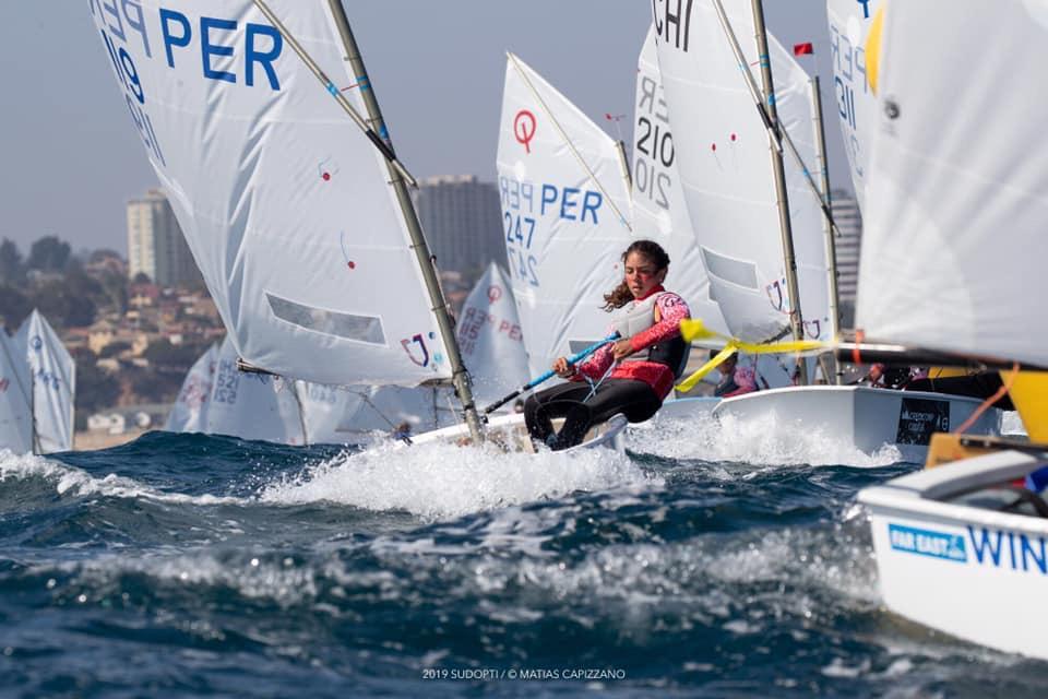 Perú es subcampeón en sudamericano de Optimist 2019 en Chile