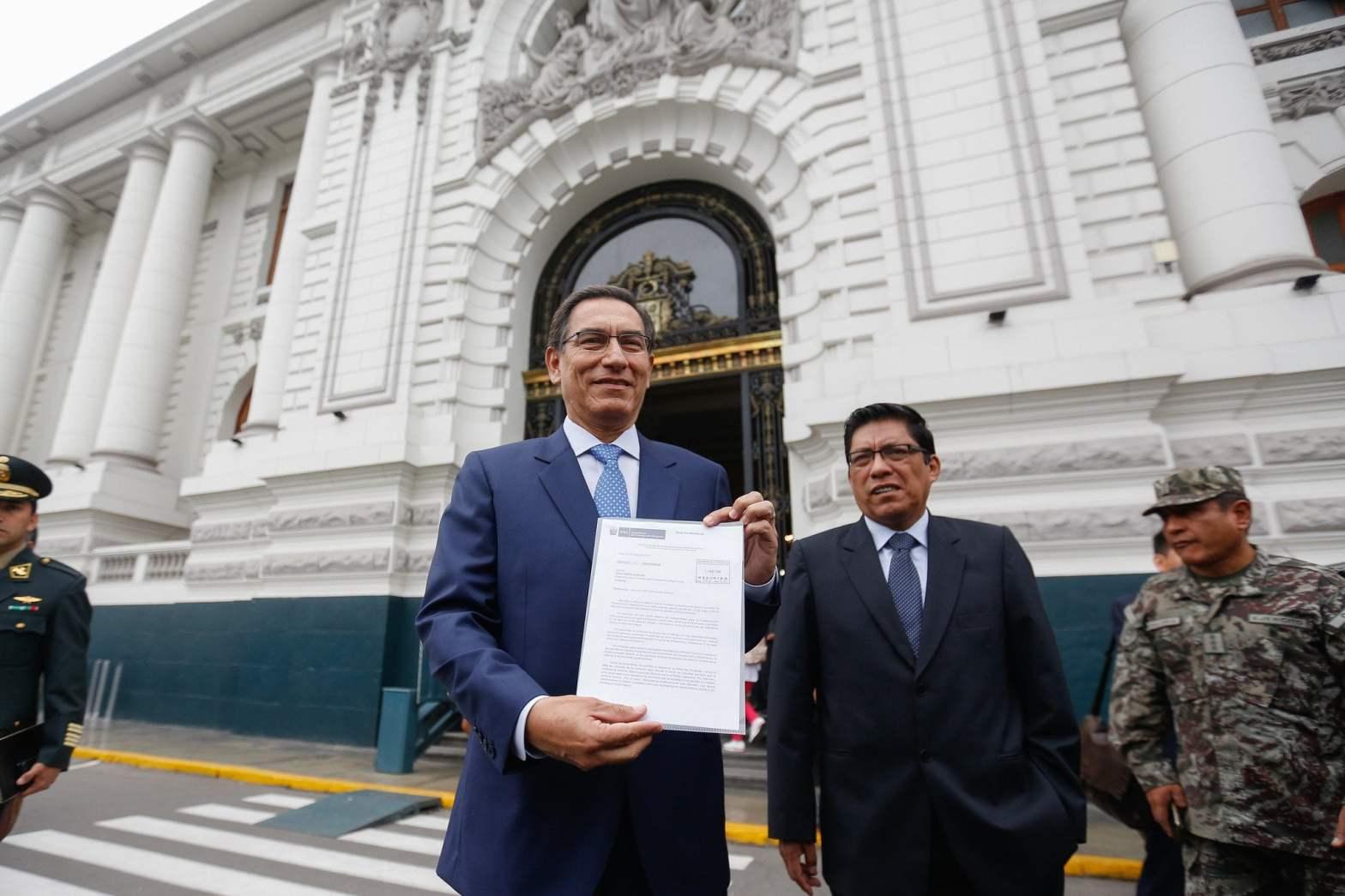 Martín Vizcarra dice que hay falta de voluntad en Comisión de Constitución