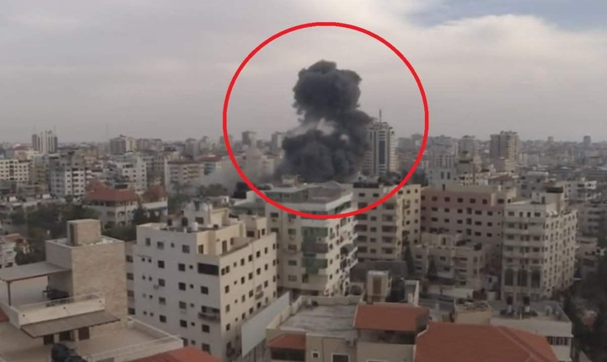 Así fueron los bombardeos entre Israel y palestina en la franja de Gaza