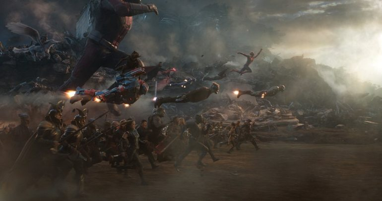 Avengers en última batalla contra Thanos