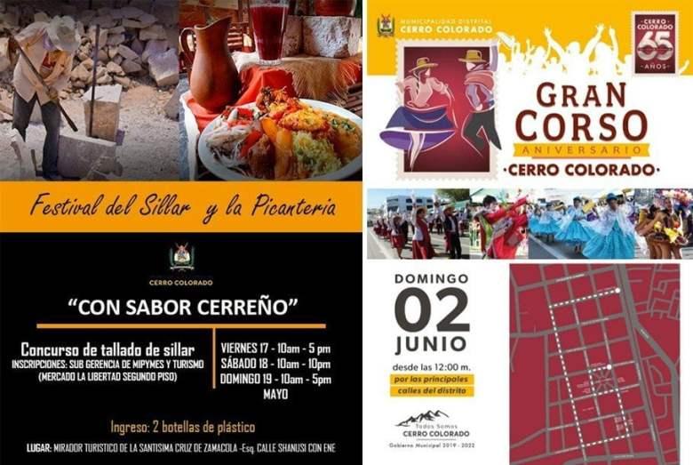 Gastronomía, corso y belleza en 65 aniversario de Cerro Colorado