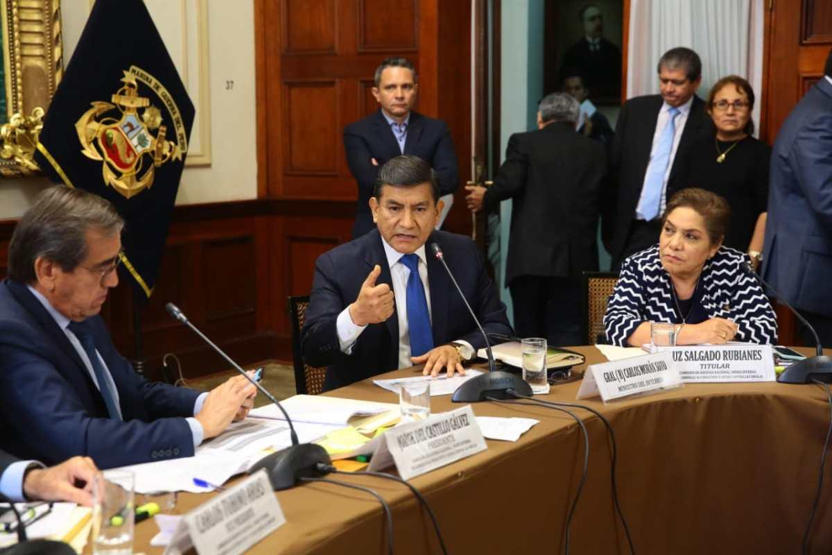 Ministro del Interior dice que Apra y Fujimoristas culpan a policía por suicidio de Alan García