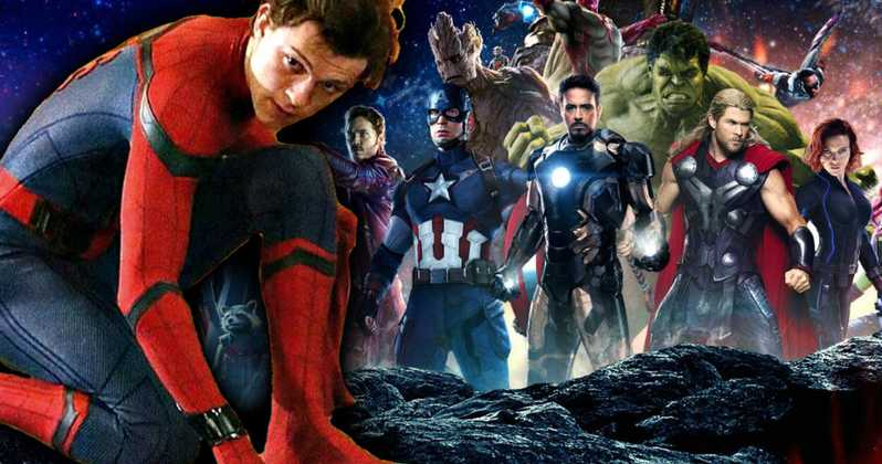 Spider Man y los Avengers Endgame