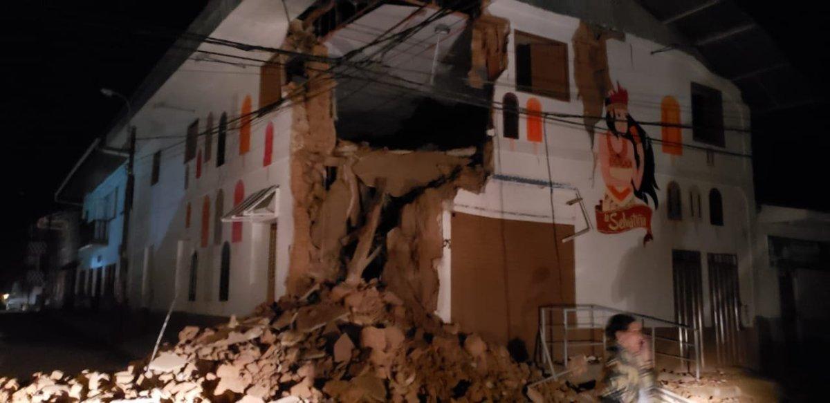 Adolescente de 15 años es la segunda víctima del terremoto en el Perú