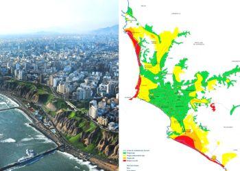 Los distritos de Lima con mayor peligro ante un sismo