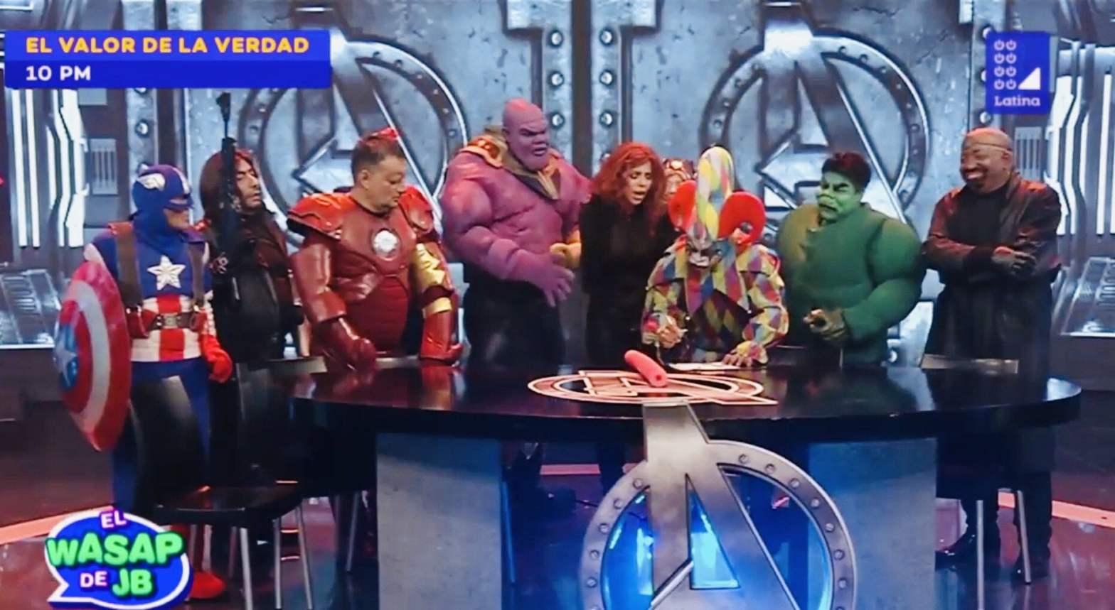 El Wasap de JB y el sketch de los Avengers Endgame con Kenji Fujimori