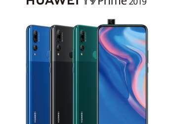 Huawei Y9 Prime 2019 con cámara frontal auto retráctil llegó al Perú