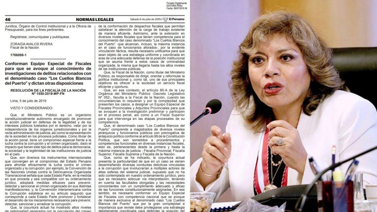 Caso 'Cuellos Blancos del Puerto' será investigado por equipo especial de fiscales
