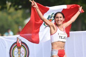 Vale un Perú: Gladys Tejeda gana medalla de oro en Maratón