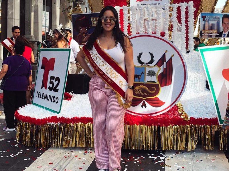 Ximena Macarena, tataranieta de Miguel Grau, busca éxito en Hollywood