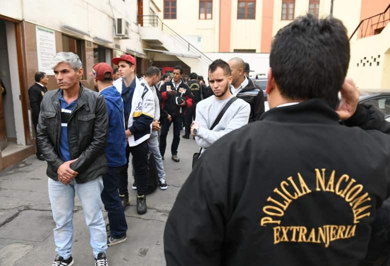 Unos 200 venezolanos con antecedentes fueron expulsados del Perú