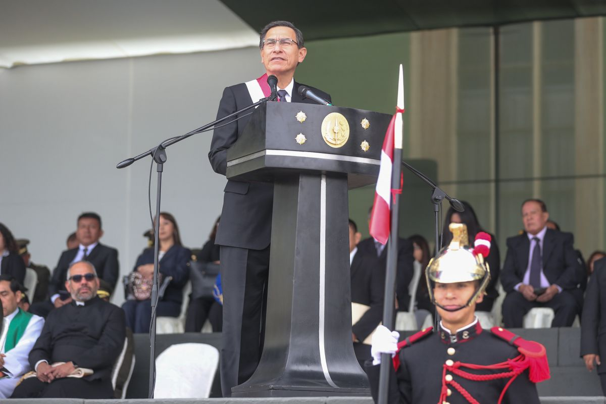 Martín Vizcarra: Perú pide nuevo destino y su derecho a ir a las urnas