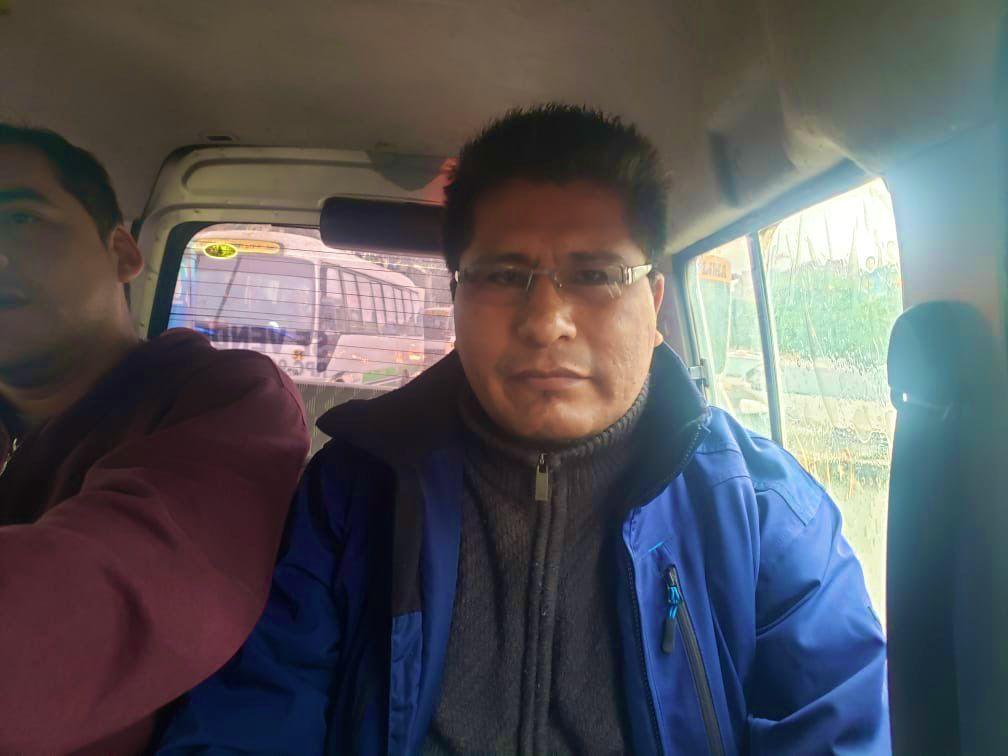 Walter Aduviri fue detenido hoy por la Policía Nacional en La Victoria