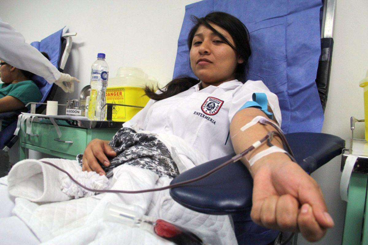 Perú necesita 200 mil donantes de sangre a diciembre del 2019