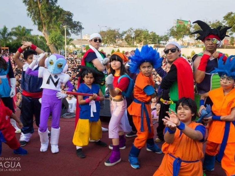 Gokú, Vegeta y Majin Boo: ¡Se viene el Dragon Ball Fest en el Cono Norte!