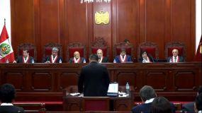 Audiencia TC por caso Keiko Fujimori